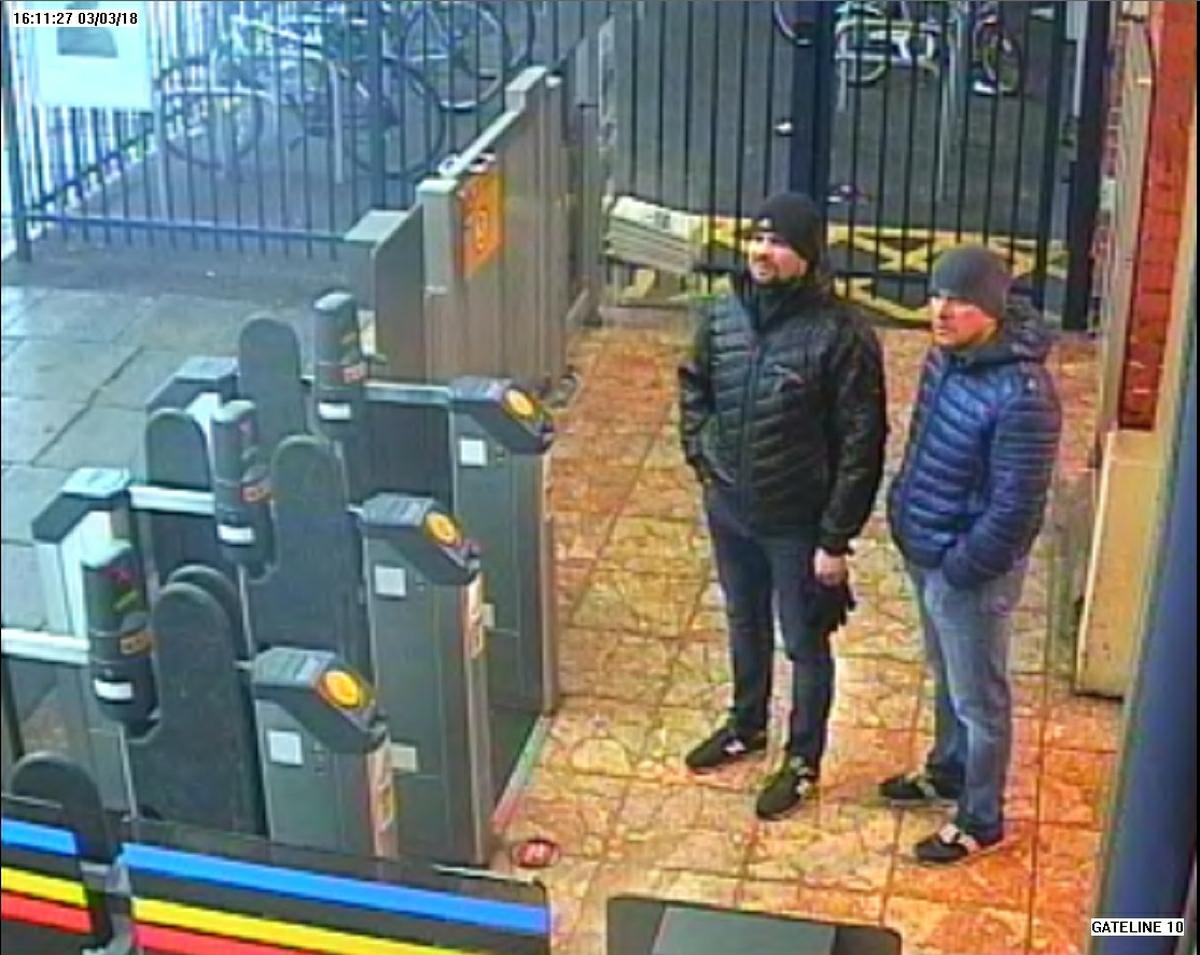 Скотланд-Ярд опубликовал новые видео с Петровым и Бошировым