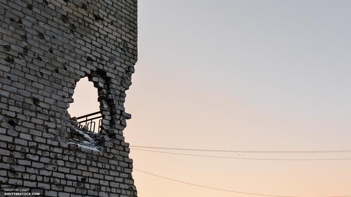 В ДНР над Горловкой кружил украинский истребитель