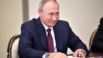 Путин взломал американского Петросяна в прямом эфире - видео