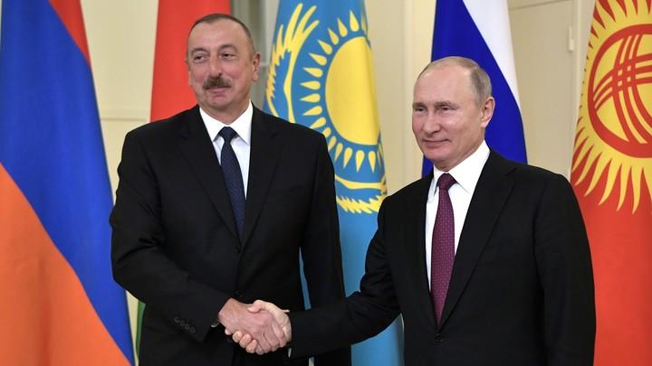 Алиев рассекретил неизвестные подробности о Путине и Карабахе