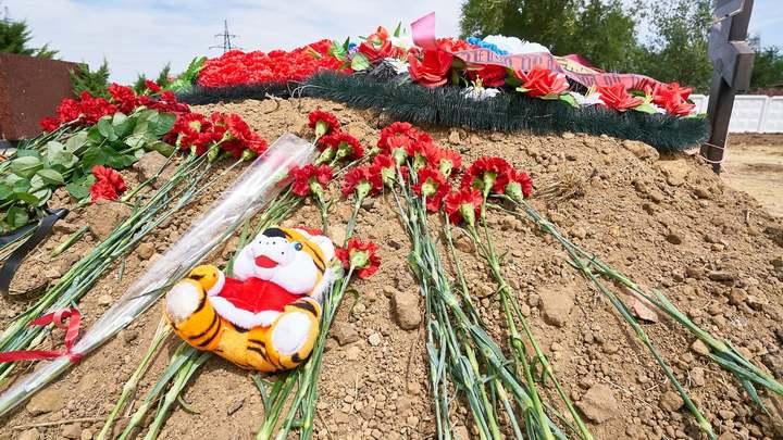 Донская Хатынь: В Сальске перезахоронили останки расстрелянных фашистами мирных жителей