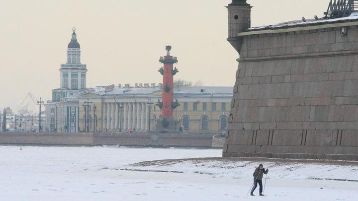 «Морозный рекорд» в Петербурге, но столбик термометра подниматься не спешит