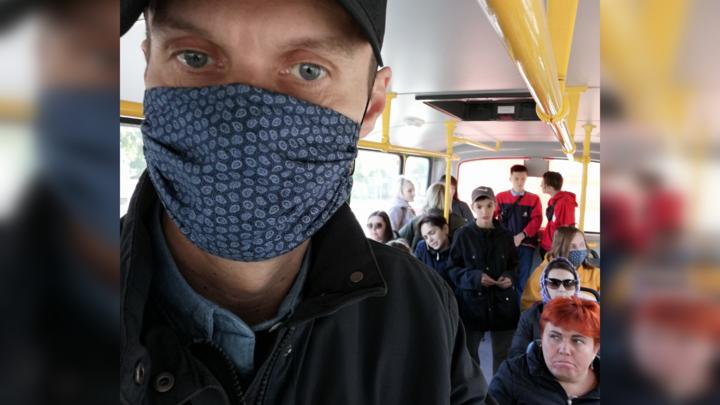 Маршрутки в Челябинске будут мыть, потому что коронавирус - тяжёлый