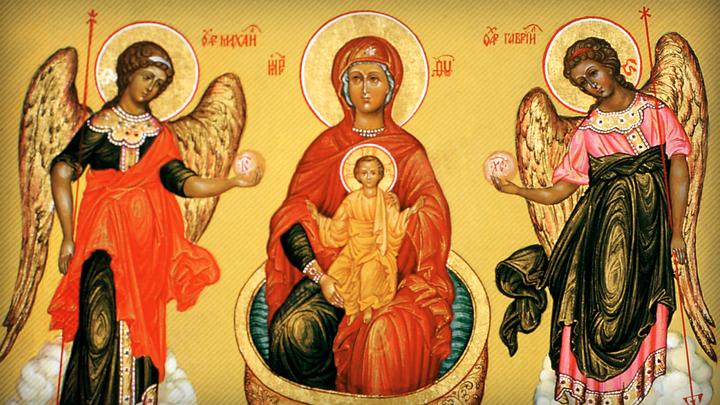 Светлая пятница. День Иконы Божией Матери Живоносный Источник. Православный календарь на 13 апреля