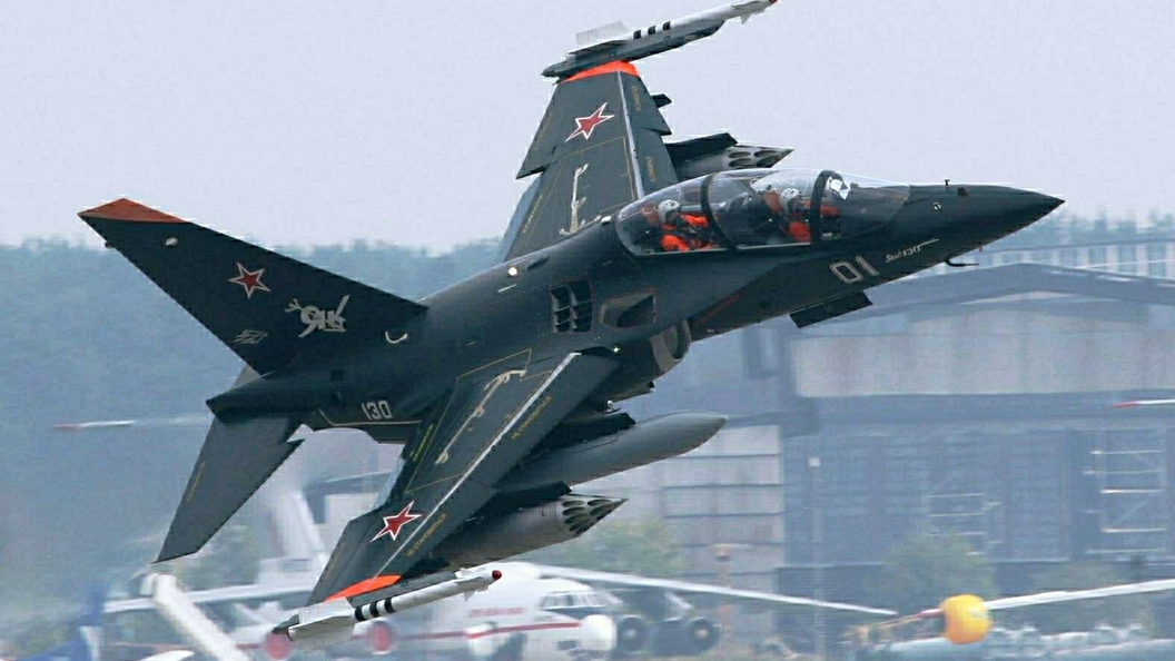 ВВоронежской области разбился самолет Як-130