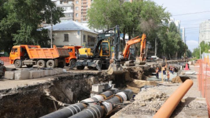 В Самаре движение по улицам Аврора и Мяги откроют 14 июня: раньше графика