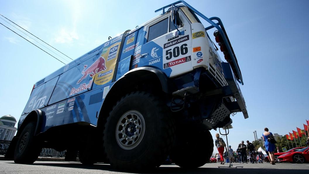 Русские КамАЗы вновь стали первыми на международном ралли Шелковый путь