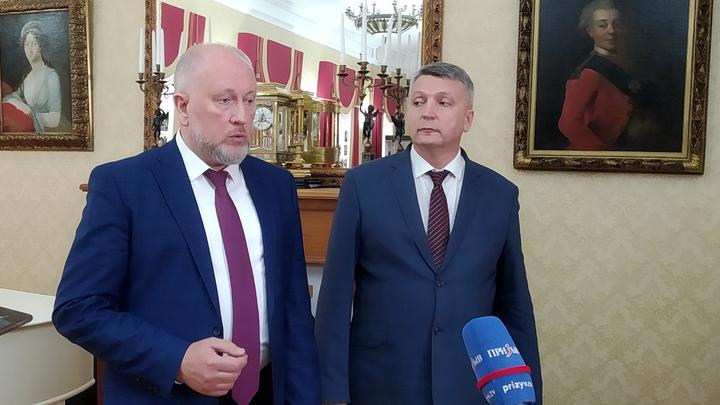В ВСМЗ представили нового директора Сергея Рыбакова
