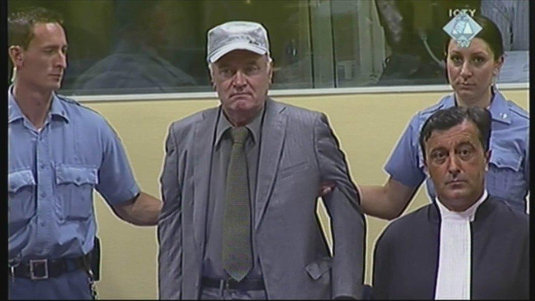 Подана апелляция на вердикт трибунала генералу Младичу