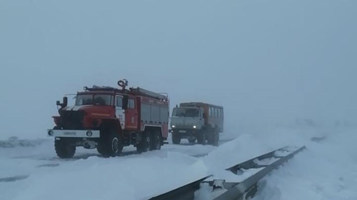 В Челябинской области остаются отрезанными из-за снегопада 5 населённых пунктов