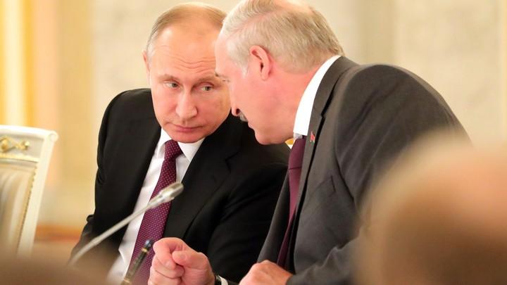 Россия готова помочь Белоруссии. Путин сказал своё слово: У меня есть определённые предложения