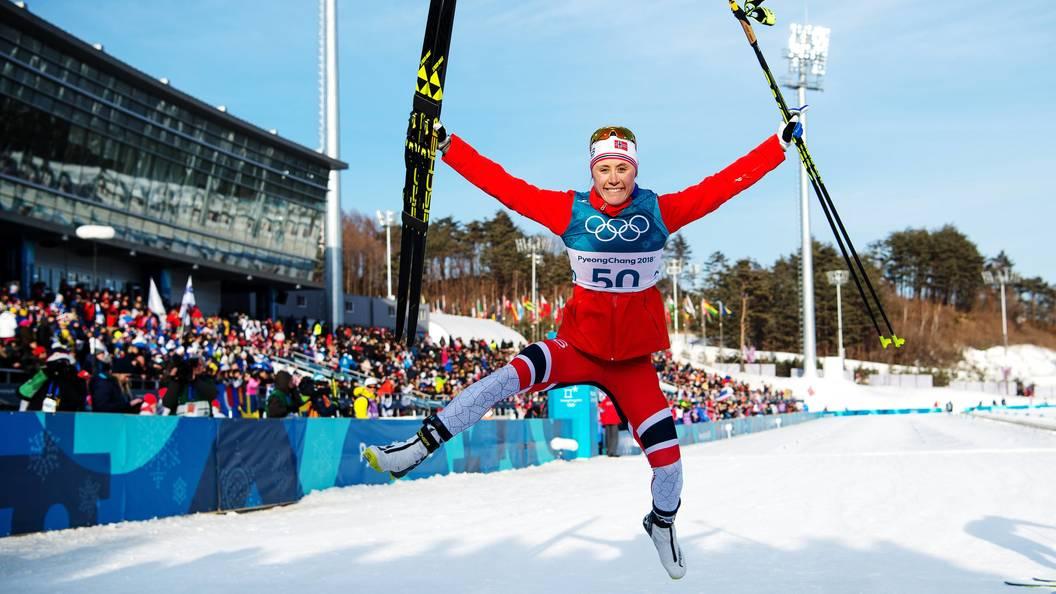 Норвежская лыжница Рагниль Хага стала олимпийской чемпионкой вгонке на10 километров