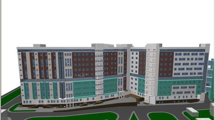 В Ростове-на-Дону строительство нового корпуса ЦГБ начнётся не раньше, чем через год