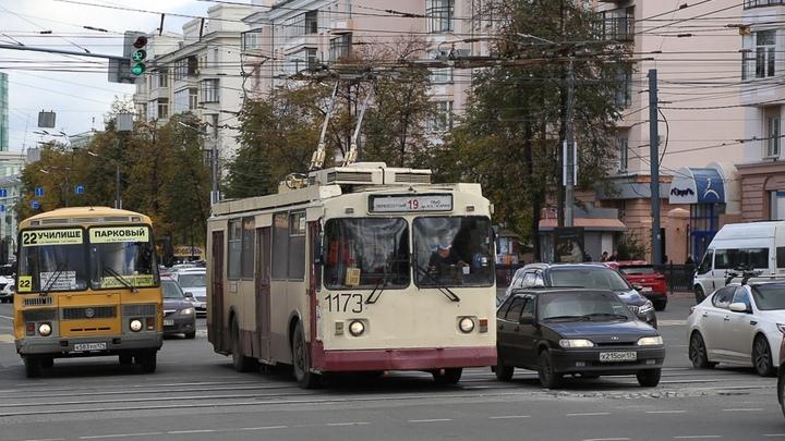 Еще на 7 дорогах в Челябинске обустроят выделенные полосы