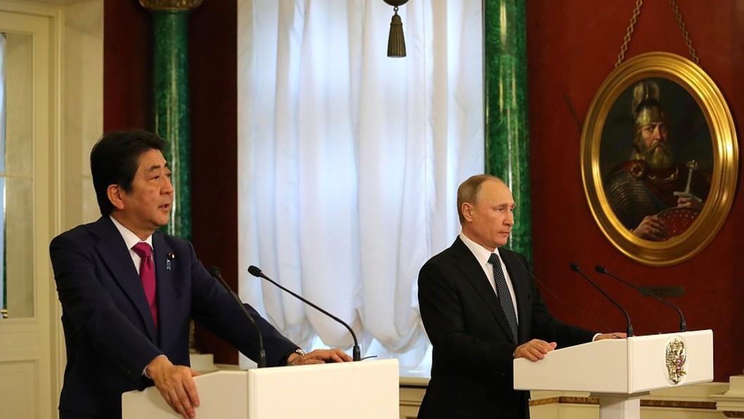 Откровенный разговор: В правительстве Японии дали оценку переговорам Путина и Абэ