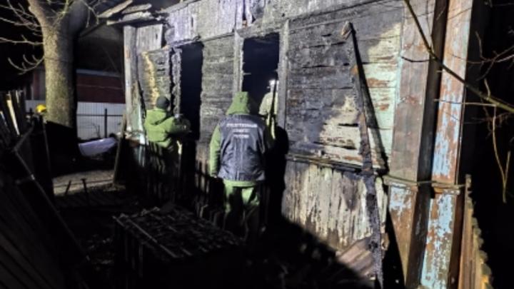 Страшный пожар унёс жизни пятерых детей в Ельне