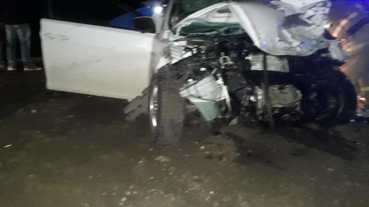 В Самарской области водитель Hyundai погиб после столкновения с грузовиком Scania