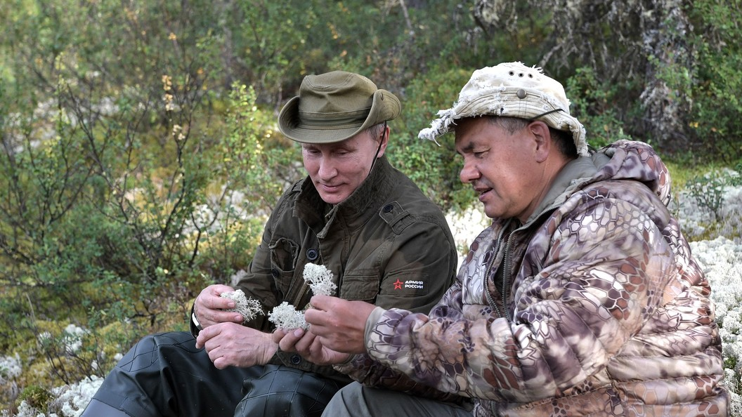 Размещено видео опоездке В.Путина вЮжную Сибирь