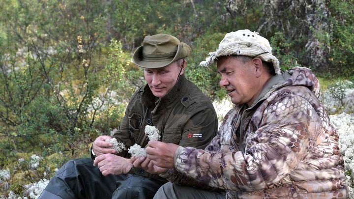 Кремль опубликовал 47-минутный фильм о рыбалке и охоте Путина в Сибири