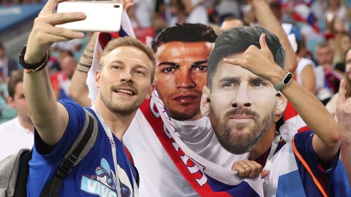 Матч Россия - Хорватия в лицах