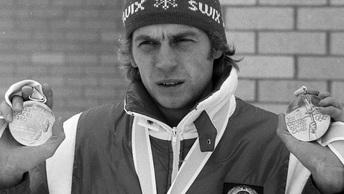 Четырехкратный олимпийский чемпион проводит лыжную гонку в поддержку русских олимпийцев