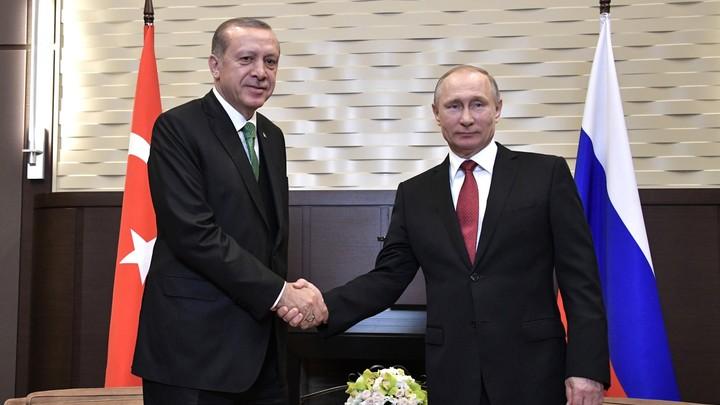 Путин: Россия и Турция продолжат работу по зонам деэскалации в Сирии