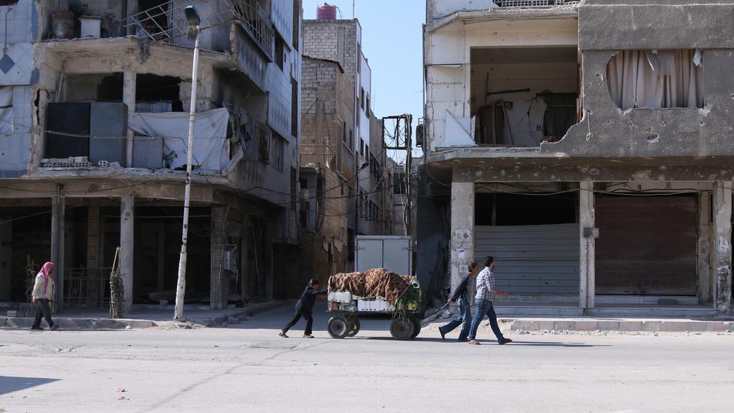 В центре Дамаска прогремел взрыв, есть погибшие