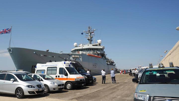 Британия отправила запугивать Россию корабль, вооруженный хуже украинских катеров - NI