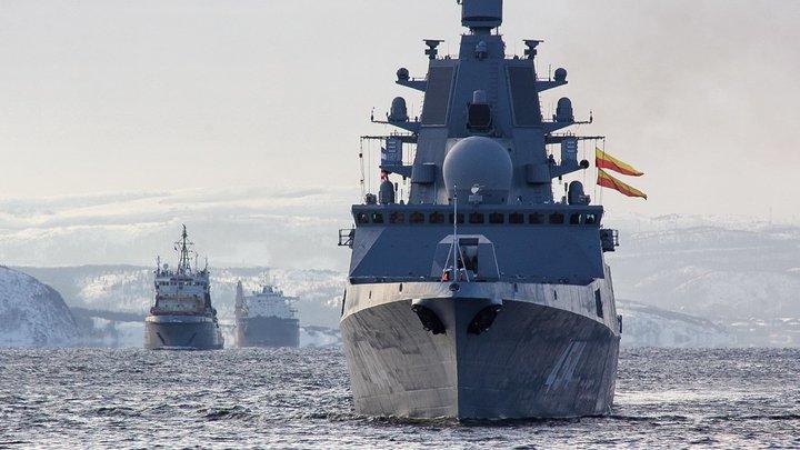 Фрегат Адмирал Горшков прошёл Ла-Манш, где на дне лежат бесхозные С-400