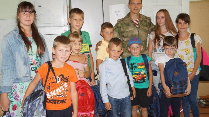 Пострадавших от наводнения иркутских детей в школу собрала Росгвардия