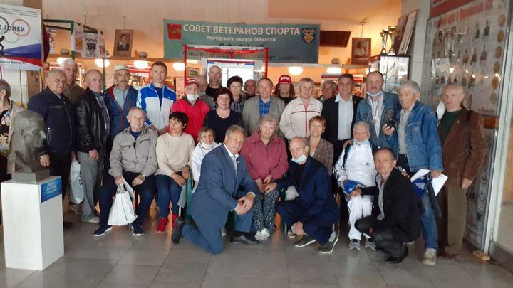Вспоминали забег из Греции: В зале спортивной славы Тольятти прошла встреча ветеранов спорта