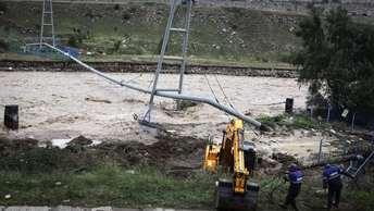 Ливни смыли восстановленную после схода селя дорогу в Кабардино-Балкарии
