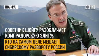 Советник Шойгу разоблачает компрадорскую элиту: кто на самом деле мешает Сибирскому развороту России