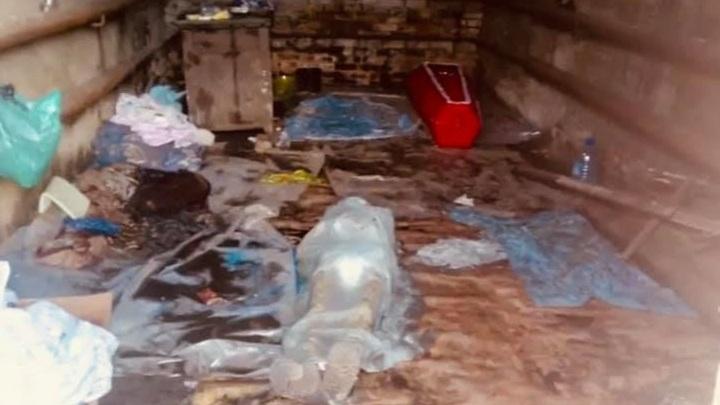 Трупы людей в Могоче вместо морга хранили в гараже