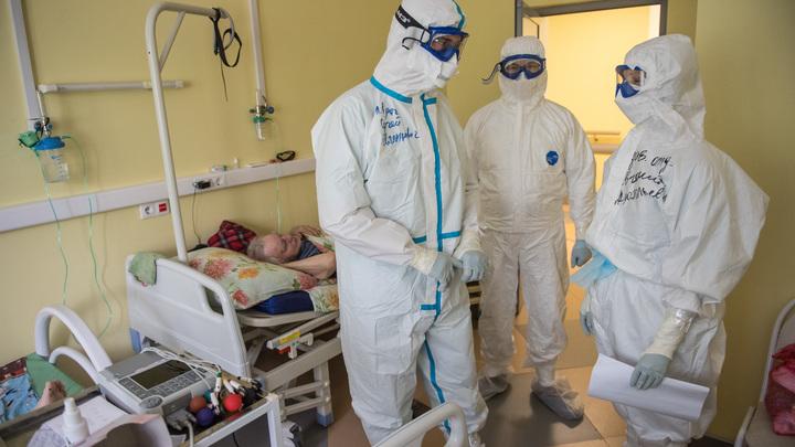 Начальник госпиталя в Ленэкспо констатировал плато по коронавирусу: Но ещё не спад