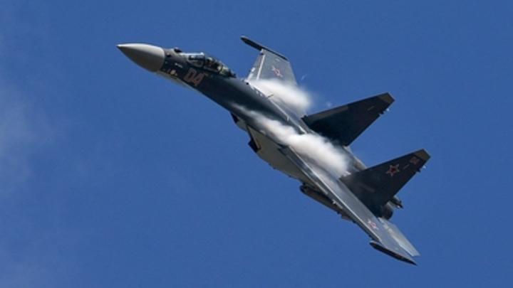 Перехват по-русски: Американские лётчики испугались умелого манёвра Су-35