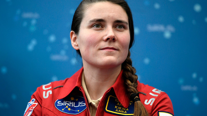 Единственная женщина-космонавт из России Анна Кикина поздравила новосибирцев с Днём космонавтики