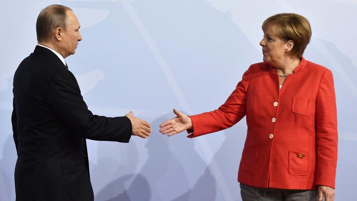 О противостоянии США, деле Скрипалей и спасении Сирии: Переговоры Путина и Меркель в Сочи