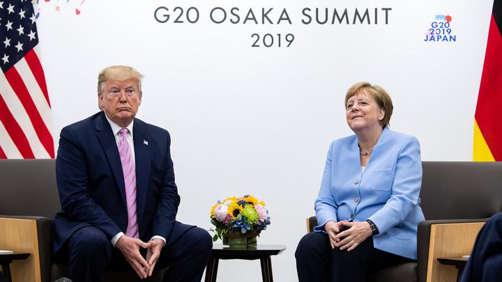 Не трясло? Меркель поговорила с Трампом про поддержку Украины