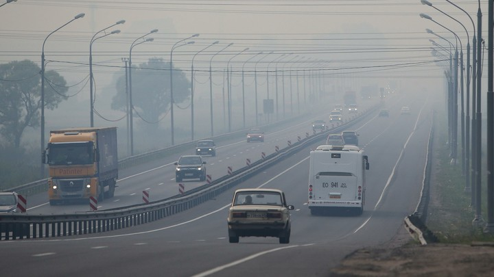 В Челябинске завод тротуарной плитки отравлял воздух
