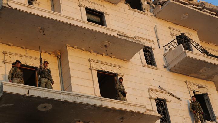 Турецкие ВВС обстреляли курдские позиции в Алеппо