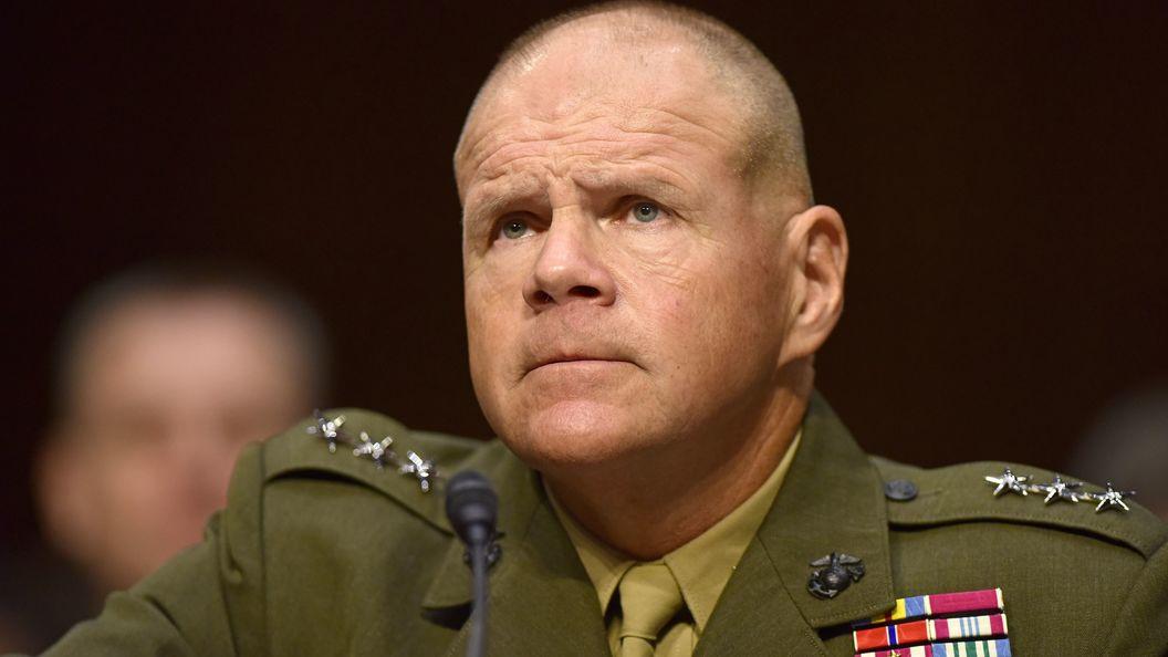 Пентагон пробует сгладить слова командующего морпехами США онадвигающейся войне вевропейских странах