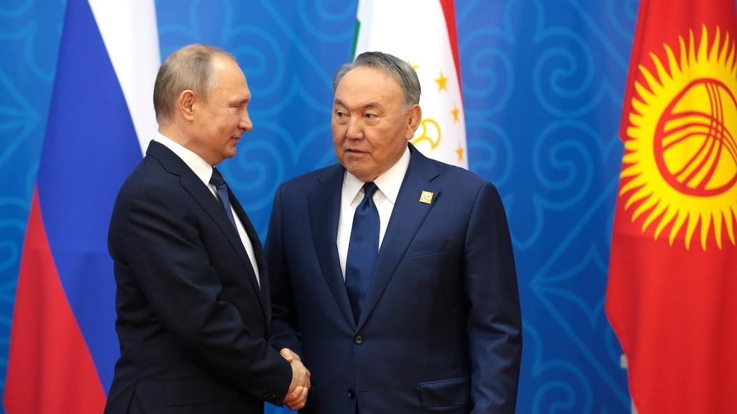 Путин и Назарбаев согласовали график своих контактов