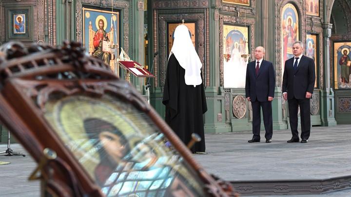 Все усилия к установлению мира: Патриарх Кирилл молится о разрешении конфликта в Карабахе