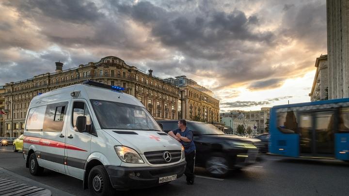 Взрыв в Москве:17 человек спасены, двое пострадали - источник