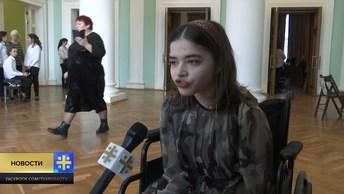 Фестиваль «Красная гвоздика – юные таланты»: участница приехала за 1800 км на инвалидной коляске
