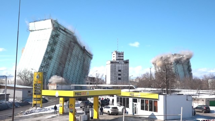 Взрыв на элеваторе оставил центр Мурома без тепла