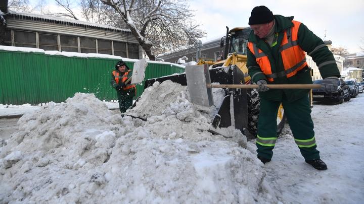 В мэрии Новосибирска рассказали о количестве убранного за зиму снега