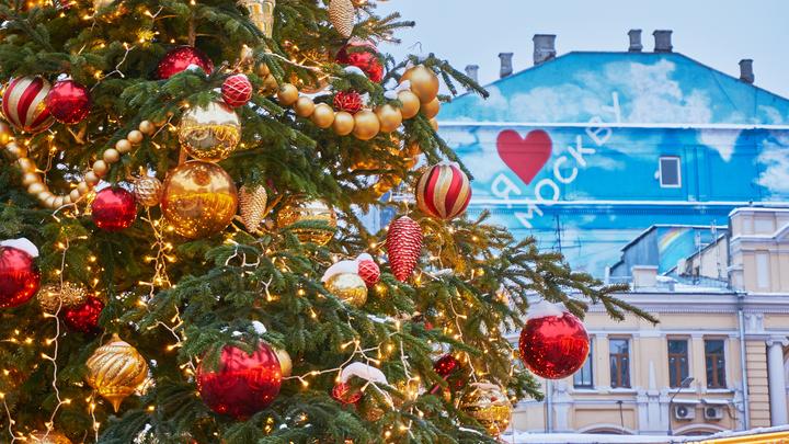 В московском парке Горького появится зеркальная елка будущего за 12,7 миллиона