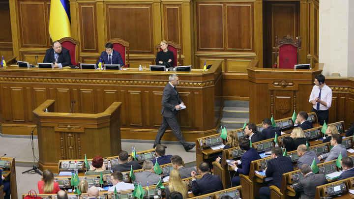 Новый сезон Рады. Дерущиеся украинские депутаты попали в рекламу бельгийского театра